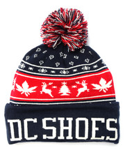 DC Shoes - Xmas Puff Beanie