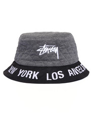 Accessories - WORLD TOUR QUILTED BUCKET HAT