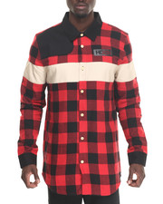 Button-downs - HDSN Worldwide L/S Flannel Button-Down