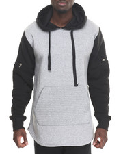 Buyers Picks - Scallop Hoodie w Quilt Detail