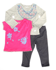 Sets - 3 PC SET - L/S TEE, BUTTERFLY TEE, & JEGGINGS (2T-4T)
