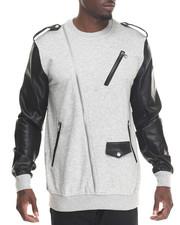 Hudson NYC - Lancer Moto Crewneck Sweatshirt