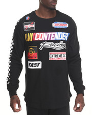 Shirts - Contender Racing Side Zip Long Tee