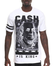 Shirts - Cash Is King S/S Tee