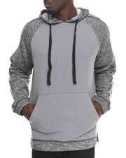 Buyers Picks - Quilted Body pullover hoody