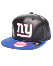 New Era - New York Giants Smoothly Stated Faux leather 950 snapback hat