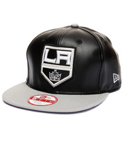 New Era - Los Angeles Kings NHL Smoothly Stated Faux leather 950 snapback hat