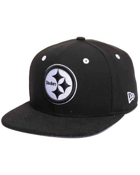 New Era Men Pittsburgh Steelers Nfl Tribal Tone 950 Snapback Hat Black