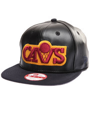 New Era - Cleveland Cavaliers Smoothly Stated Faux leather 950 snapback hat