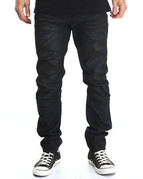 Rocawear Blak - Men Black Rager-Indie Black Slim Leg Jeans
