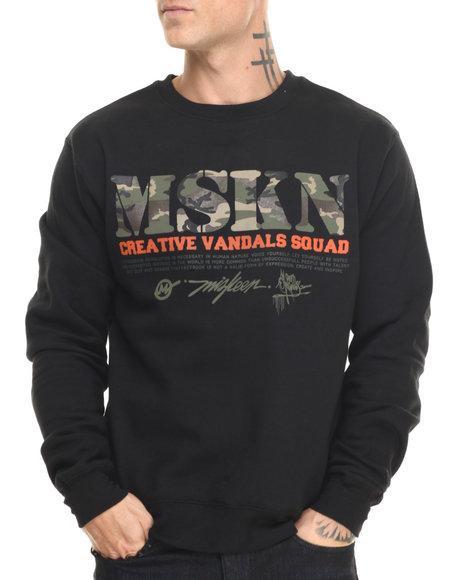 Woodland Camo Pullover Sweatshirts