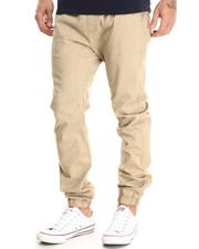Pants - Drop Crotch Stretch Twill Jogger
