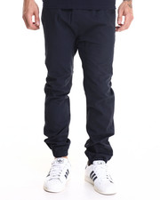 Cyber Monday Shop - Men - Drop Crotch Stretch Twill Jogger
