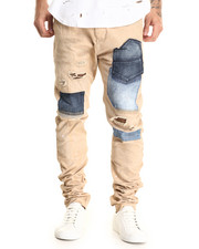 Men - Titania Distressed Khaki Pants