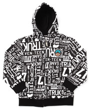 Boys - ALLOVER PRINT LOGO HOODY (8-20)