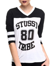 Tops - STUSSY TRIBE HOCKEY TEE