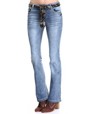 Bottoms - Flare Jean w/ Belt