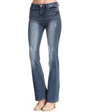 Bottoms - High Waist Flare Jean