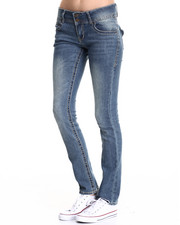 Straight - Straight Leg Heavy Stitch Jean