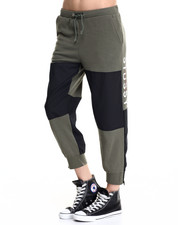 Pants - MILITARY FLEECE PANTS