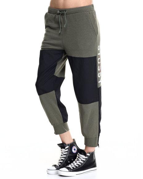 Stussy - Women Olive Military Fleece Pants