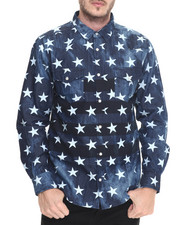 Button-downs - Vintage Star Denim L/S Button - Down