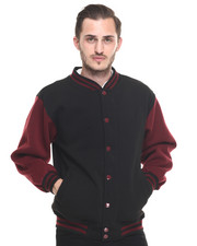 Men - Fleece Varsity Jacket