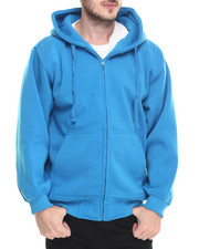 Hoodies - Zip-up Fleece Hoodie