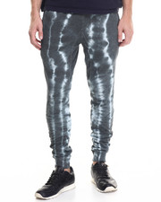 Basic Essentials - Tie - Dye French Terry Joggers
