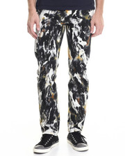 Men - Abstract Color - Washed Twill Pants