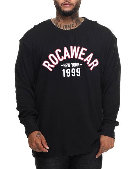 Rocawear Men Trainer Thermal (B&T) Black 3XLB