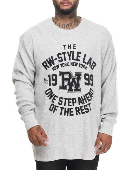 Rocawear Men One Step Ahead Thermal (B&T) Grey 5XLB