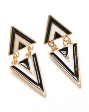 Jewelry - Triangle Dangle Earrings