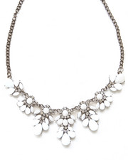 Jewelry - Crystal & Bead Statement Necklace