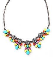 Black Friday Shop - Women - Crystal & Bead Statement Necklace