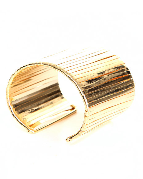 Drj Accessories Shoppe Women Gold Cuff Bracelet Gold