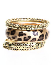 Jewelry - Multi Bangle Leopard Bracelet