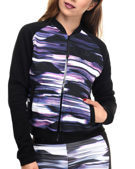 Puma - Women Multi Blurred Bomber Jacket
