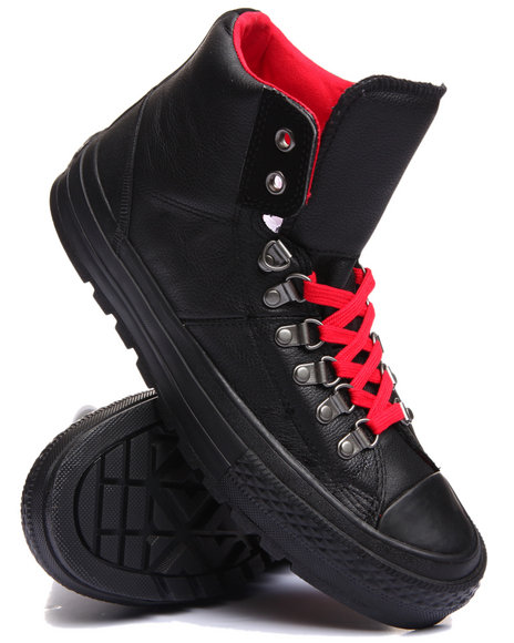 Converse Men Chuck Taylor All Star Street Hiker Leather Black 11