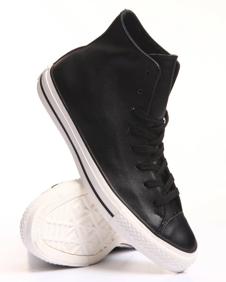 Converse Men Chuck Taylor All Star Craft Leather Black 11.5