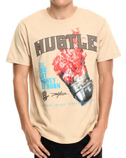 Black Friday Shop - Men - Hustle Burnin $$$ Tee