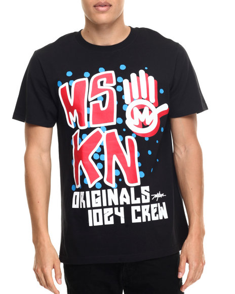 Miskeen Black T-Shirts