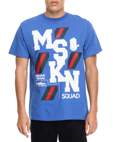 Miskeen Blue T-Shirts