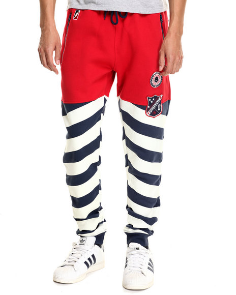 Post Game - Men Red P G Goalie Tracker Joggers - $59.99