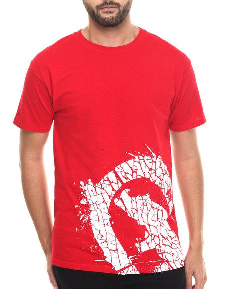 Ecko - Men Red Cracked Logo T-Shirt - $19.50