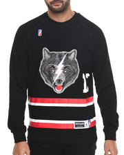Men - Lone Wolf Crewneck Sweatshirt