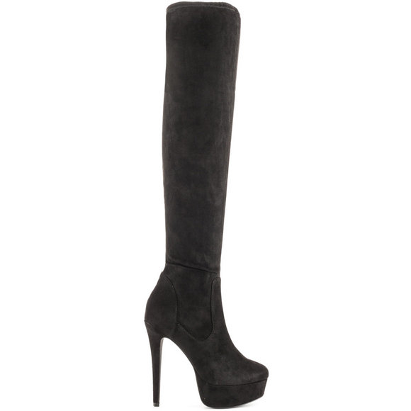 Lfl By Lust For Life - Women Black Prime Over The Knee Boots