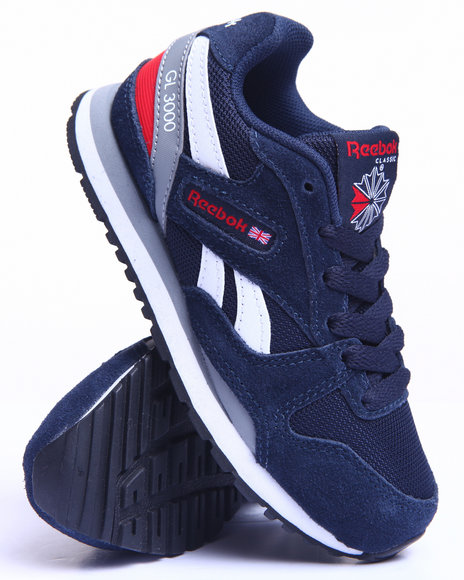 Reebok - Boys Navy Gl 3000 Sneakers (11-3)
