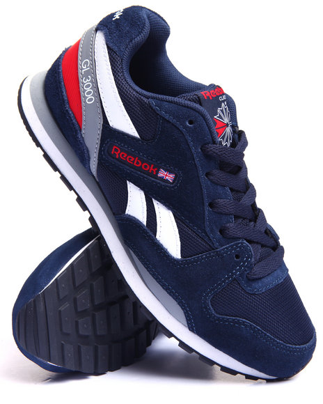 Reebok - Boys Navy Gl 3000 Sneakers (3.5-7)