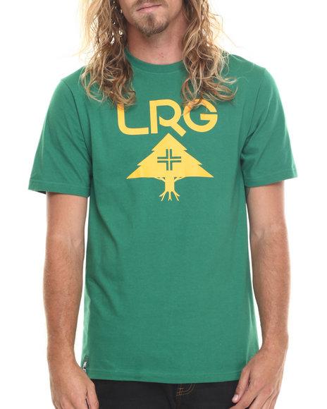 Lrg Men Rc Lockup T-Shirt Green Small